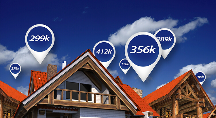 Fluctuating home prices